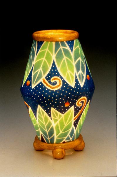 Светильник из полимерной глины своими руками 13